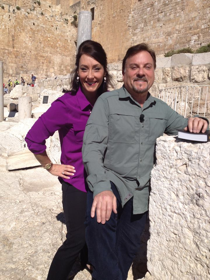 Join Myles and Katharine in Israel